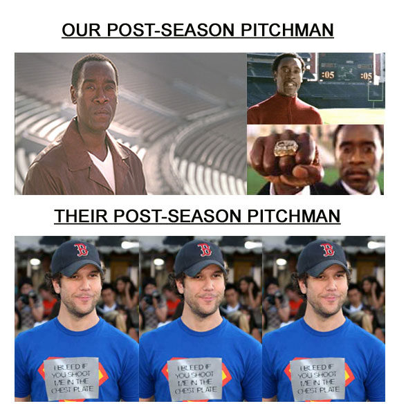 and general societal irritant    as their post season pitchman for 2007